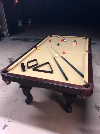 Solo 174 Madison Olhausen Americana Ii 8 Pool Table 9