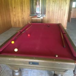 National Billards Co Pool Table
