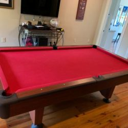 Pool Table with Added Ping Pong Top