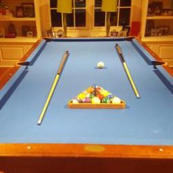 Pool & Ping Pong Table